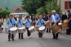 Auftritt Brunnenfest Jungtambouren